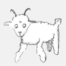 """O segundo """"mouton"""" desenhado"""